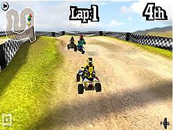 שחקו במשחק בחינם 3D Quad Racing