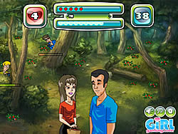 Kissing In The Woods game