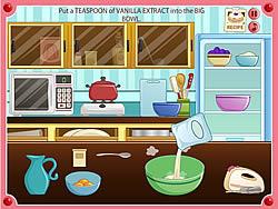 Kitchen Grand Prix with Rachel game