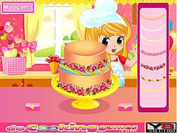 Играть бесплатно в игру My Sweet 16 Cake 2