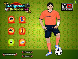 Jogar jogo grátis Lionel Messi Dress Up