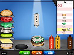 שחקו במשחק בחינם Papa's Burgeria