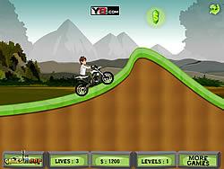 gra Ben 10 Moto Champ