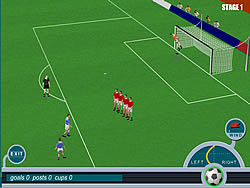 Gioca gratuitamente a Roby Baggio Magical Kicks