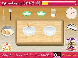Играть бесплатно в игру Strawberry Cake