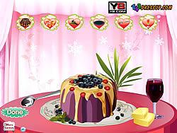 Играть бесплатно в игру Bundt Cake Decor