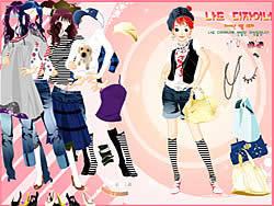 Permainan -= Dress Up Sporty Girl
