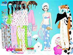 Permainan A Big Party Of Pajamas