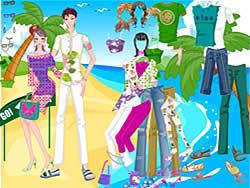 Find Romantic Beach لعبة