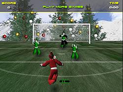 Gioca gratuitamente a Santa's Footy Challenge