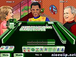Permainan Obama Traditional Mahjong