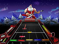 שחקו במשחק בחינם Santa Rockstar 4