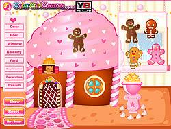 Играть бесплатно в игру Christmas Gingerbread House