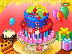 Играть бесплатно в игру Happy Newyear Cake