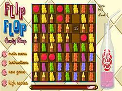 Gioca gratuitamente a Flip Flop Candy Shop