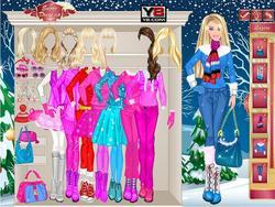 gra Barbie Winter