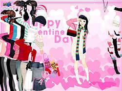 Gioca gratuitamente a Valentine Dress