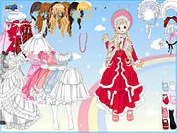 Gioca gratuitamente a Dress-up Doll 3