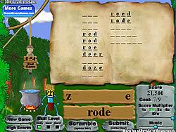 Gioca gratuitamente a Alphabet Jungle