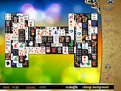 Permainan Black and White Mahjong 2