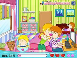 Babysitter's Love Story game