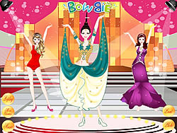 Miss World Dress Up spel