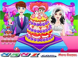 Играть бесплатно в игру Exquisite Wedding Cake