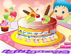 Yummy Cake Cooking game