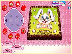 Играть бесплатно в игру Easter Bunny Cake