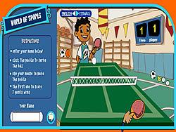 Gioca gratuitamente a Maya & Miguel Ping pong