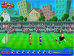 Gioca gratuitamente a Johnny Bravo Soccer Champ