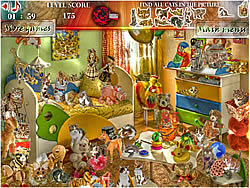 Search for Cats game