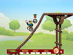 Gioca gratuitamente a Popeye Bike Ride