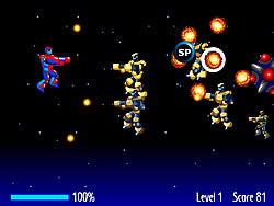 Robots Attack game