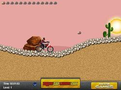 The Desert Bike game