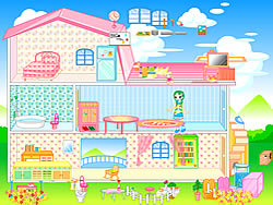 juego Barbie House