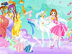 Dress Up Fairy oyunu