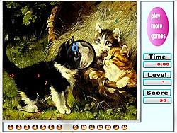Gioca gratuitamente a Naughty Cats Hidden Numbers