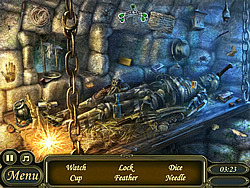Lost Necklace Ancient History game