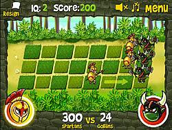 Permainan Spartans vs Goblins