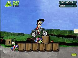 Permainan Crazy Tarzan Bike