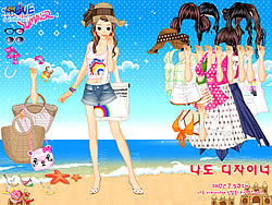 Beach Dress up oyunu