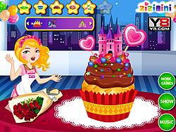Играть бесплатно в игру Zizi Princess Cake Decor