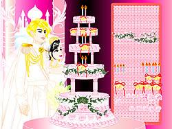 Играть бесплатно в игру Design your Wedding Cake