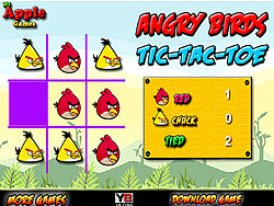 Gioca gratuitamente a Angry Birds Tic-Tac-Toe