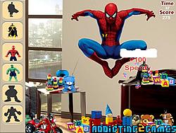 gra Superheroes Hidden Object