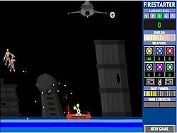 Permainan Firestarter 2 - The Alien Invasion