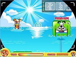 Permainan Puppy Water Skiing