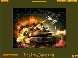 Permainan Military Units Jigsaw