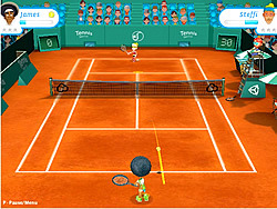Tennis Stars Cup game